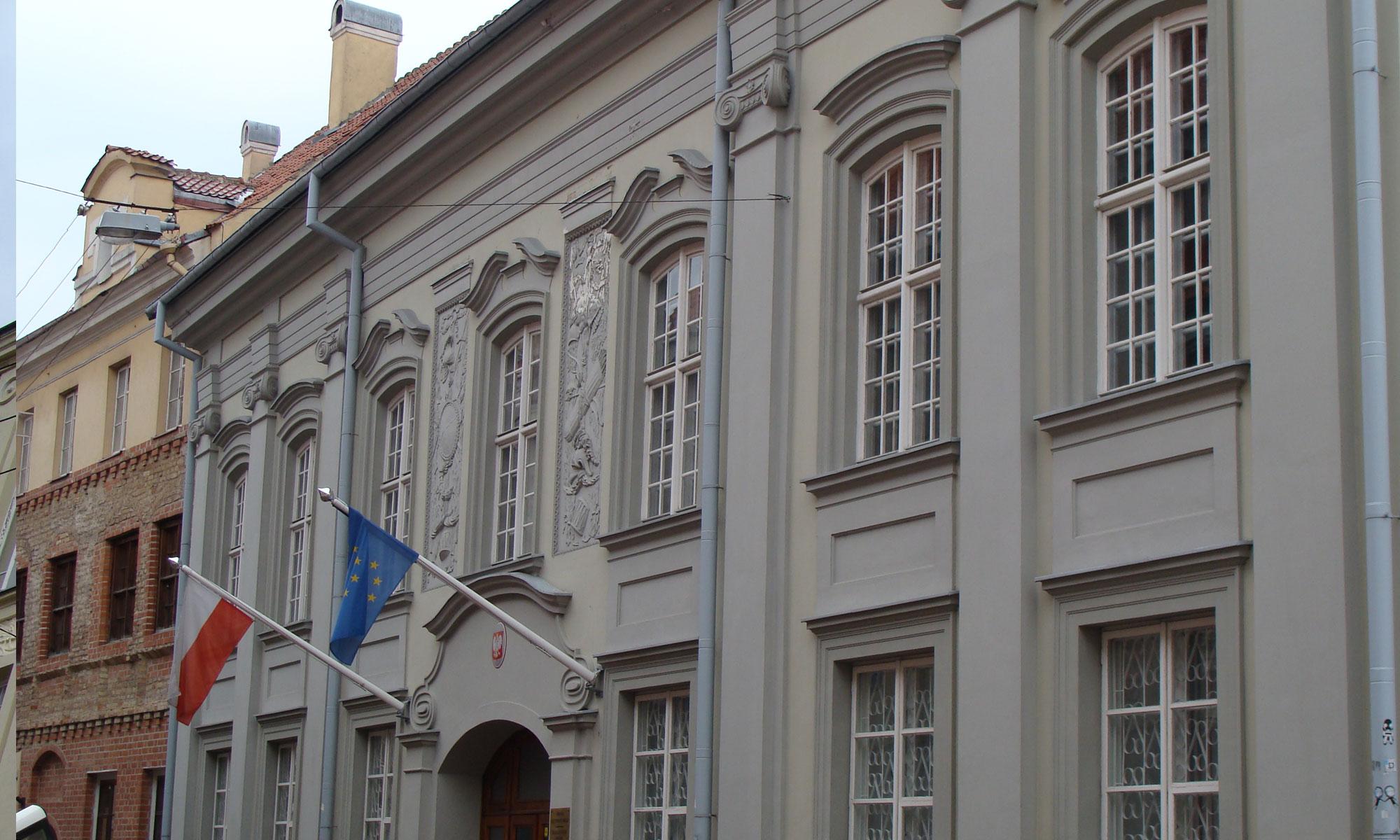 Fasado Renovacija – Lenkijos Ambasada
