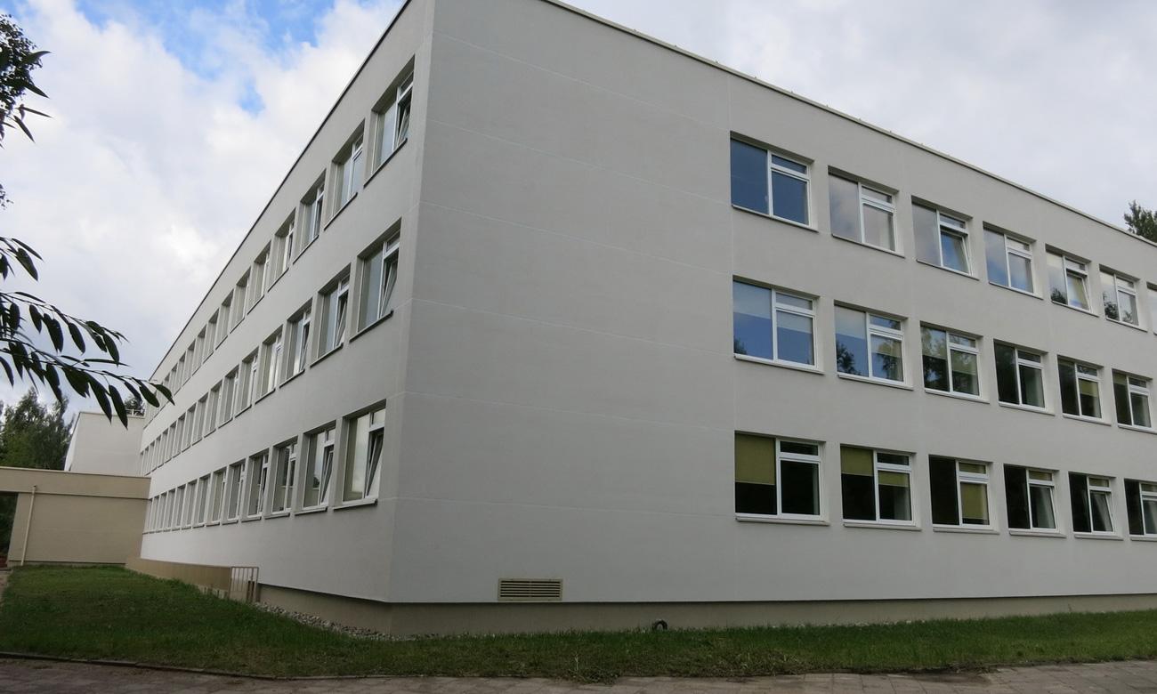 Fasado Darbai – Mokyklos Pastato Modernizavimo Darbai