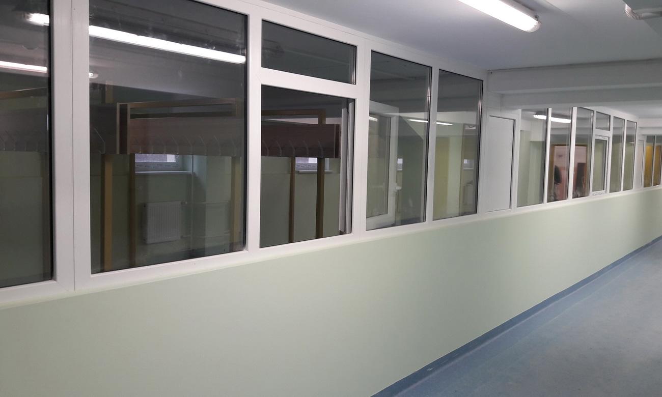 Vidaus Apdailos Darbai – Mokyklos Pastato Modernizavimo Darbai