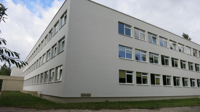 Fasado Darbai - Mokyklos Pastato Modernizavimo Darbai