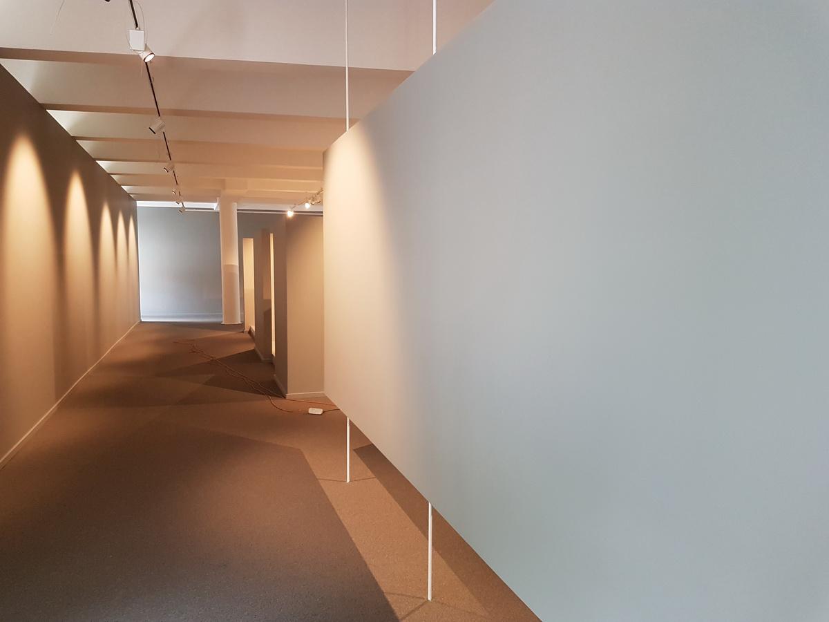 ekspozicinės salės patalpų remontas
